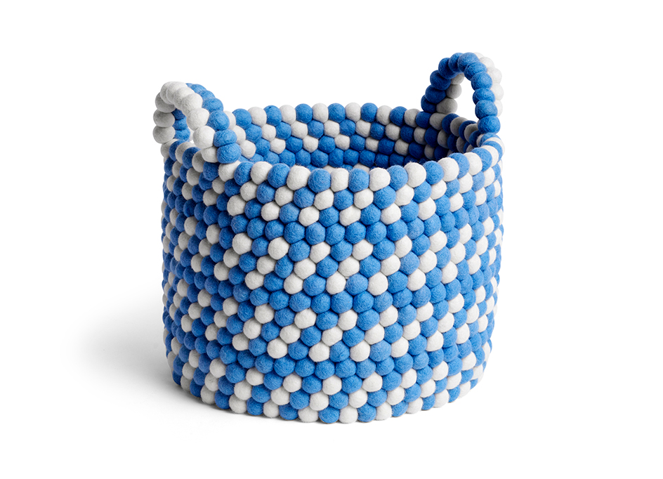 BEAD BASKET WITH HANDLE