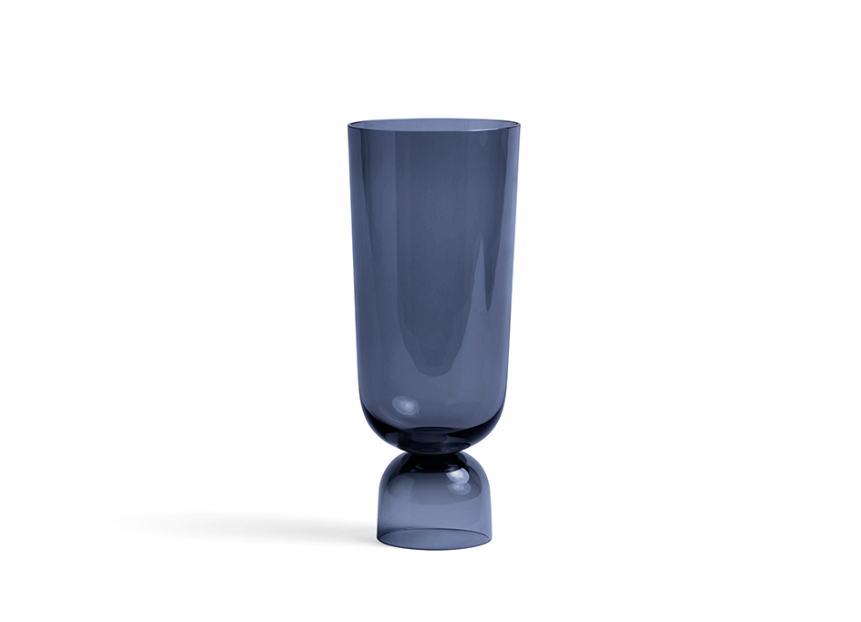 BOTTOMS UP VASE L