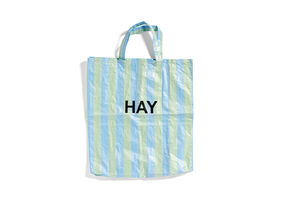 CANDY STRIPE SHOPPER XL