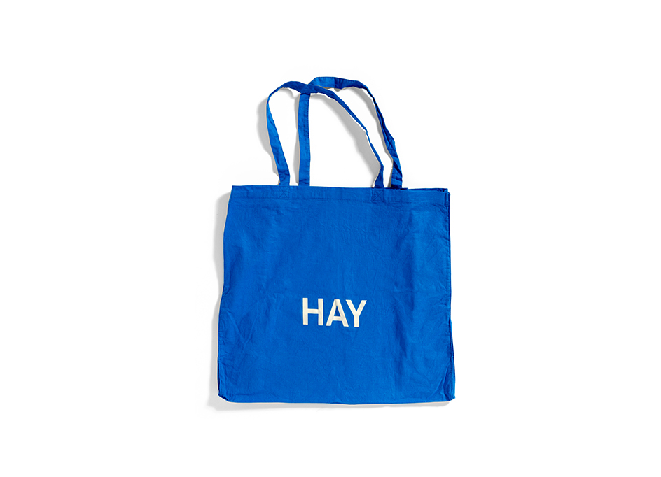 BLUE TOTE BAG L
