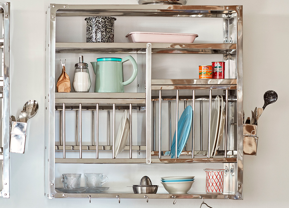 INDIAN PLATE RACK L