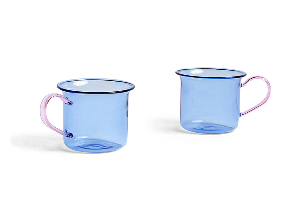 BOROSILICATE CUP SET OF 2