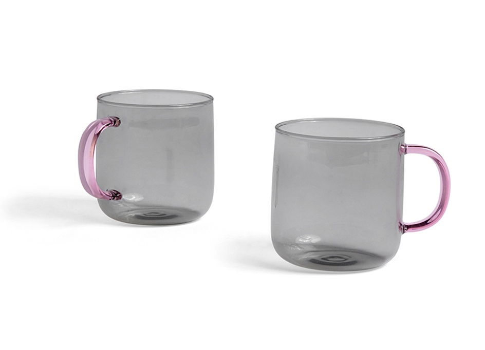 BOROSILICATE MUG SET OF 2