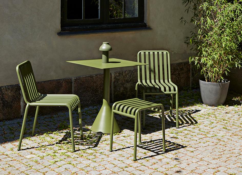 ガーデンチェア ヘイ コーディネート例 サンプル 画像